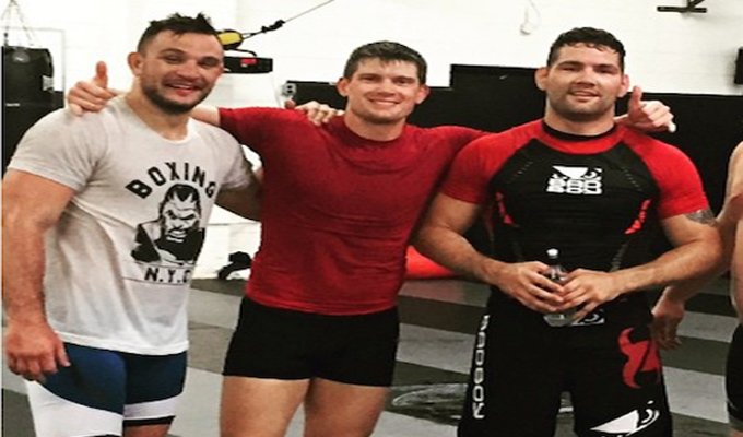 Gian Villante Chris Weidman